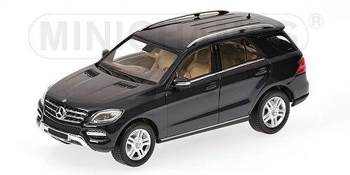 Minichamps Mercedes-Benz M-Class Year 2011 Tanzanite bluee Metallic 1 43
