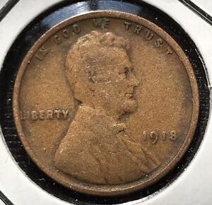 1918 Wheat Penny Ebay