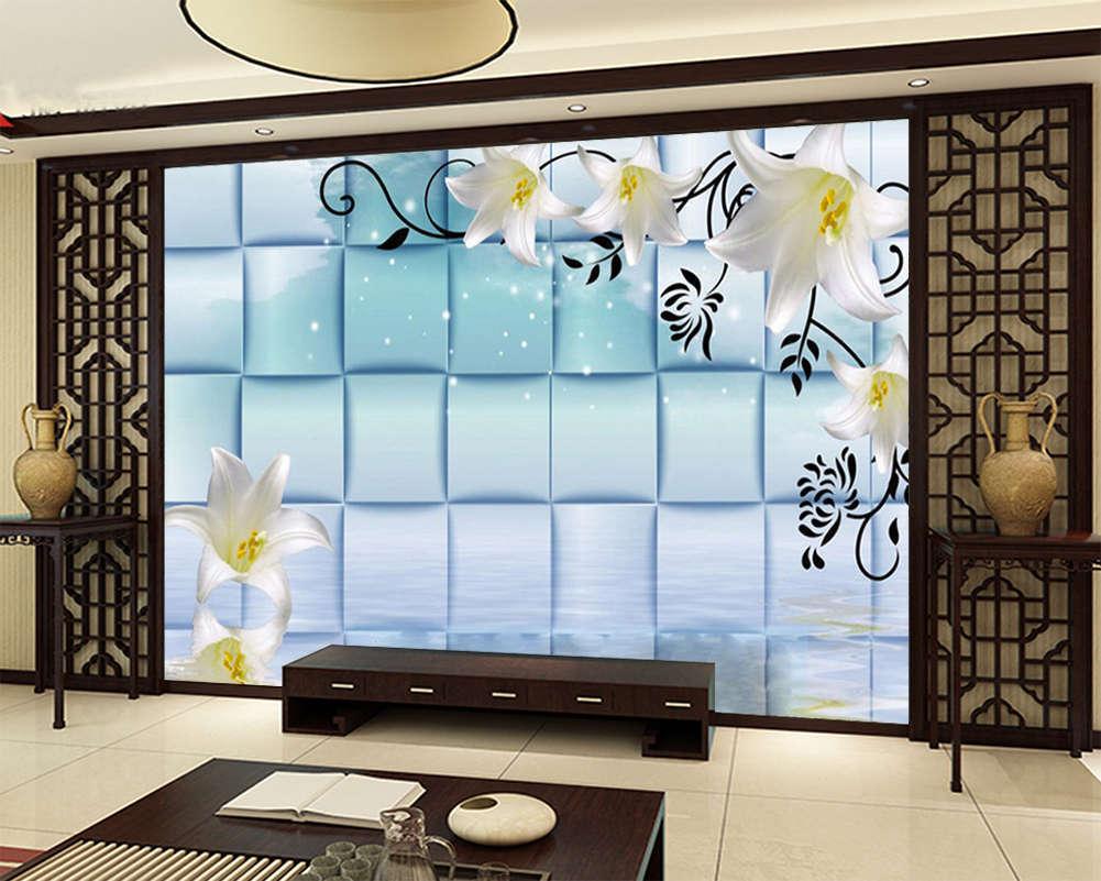 The Beauty Of  Flowers 3D Full Wall Mural Photo Wallpaper Print Home Kids Decor