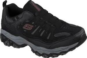 Men's  Skechers After Burn M. Fit Slip On Walking Shoe