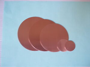 COPPER .7mm DISCs small sizesAppr 8 10 13 16 20 21 24 25mm metal CIRCLES BLANKS*