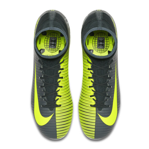 4fab0991d09 Nike Mercurial Chapter 3 Superfly V Cr7 FG Sock Junior Football BOOTS Size  5 for sale online