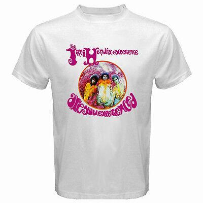 New The Jimi Hendrix Experience Rock Band Legend Men/'s Black T-Shirt Size S-3XL