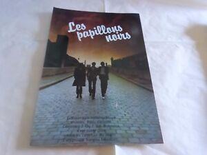 Gioielli-Mini-Poster-Colorati-Vintage-70-039-S-Farfalle-Nero