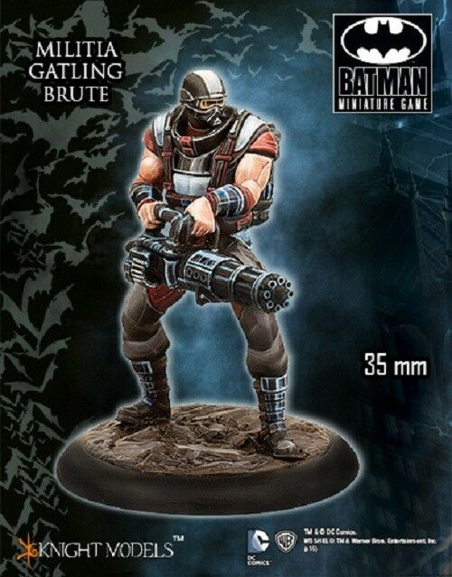 Melitia Gatling Brute 35mm Batman Miniature Game Knight Models Miniature Dc