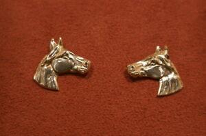Equestrian-925-Horse-Head-Silver-Earrings-Jewellery