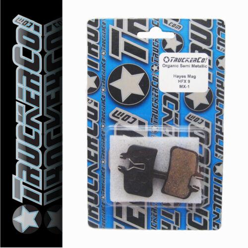 1pr TruckerCo S High Performance Disc Brake Pads Hayes HFX 9 NINE mag MX1 mx-1