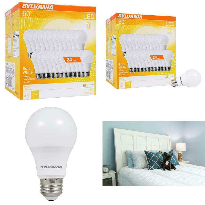 Sylvania Home Lighting 74765 A19 Efficient 8.5W Soft Wh