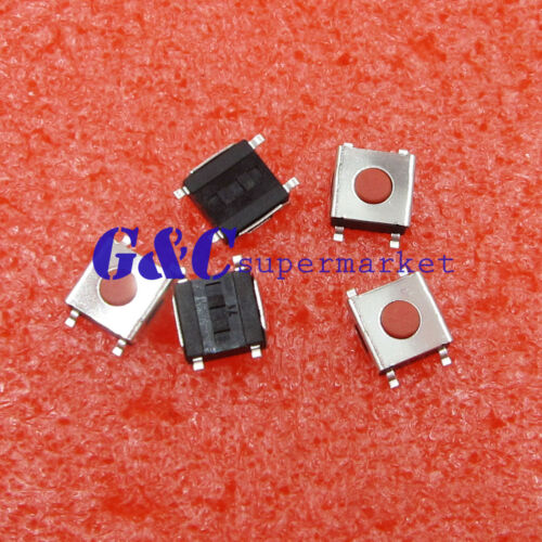 500pcs 6*6*2.5mm Tactile Push Button Switch Tact Switch Micro Switch 4-Pin SMD