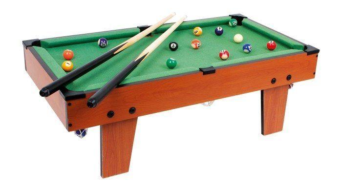 Biliardo da tavolo con stecche Legler 6706