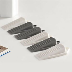 5 pcs novelty rubber door stop stoppers door block wedges baby safety 2 colors ebay - Door stoppers rubber ...