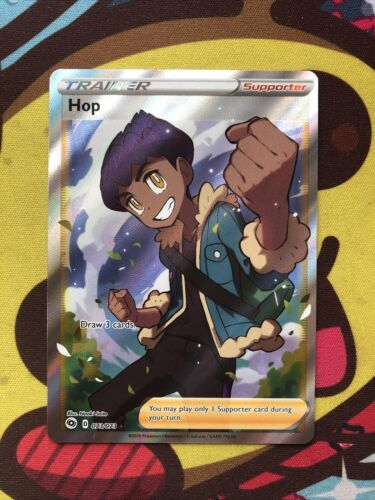 Pokemon Hop 073//073 SWSH Champions Path Full Art