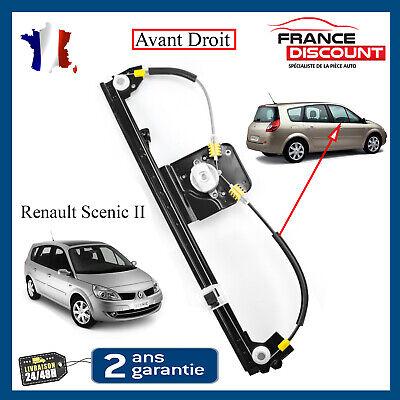 Mecanisme Leve Vitre Electrique Avant Droit Sénic 2 /& Grand Scenic II 8200118775