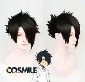 Details about Styled The Promised Neverland Yakusoku no Neverland Ray  Cosplay Hair Wig WW