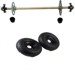 Details about Go Kart Rear Axle Assembly Kit + 6