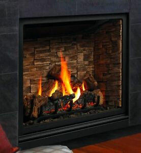 Kingsman Zcv39h Bentley Direct Vent Gas Fireplace Classic Style Zero