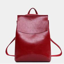 Item 3 Women S Backpack Travel Pu Satchel Leather Handbag Rucksack Shoulder School Bag