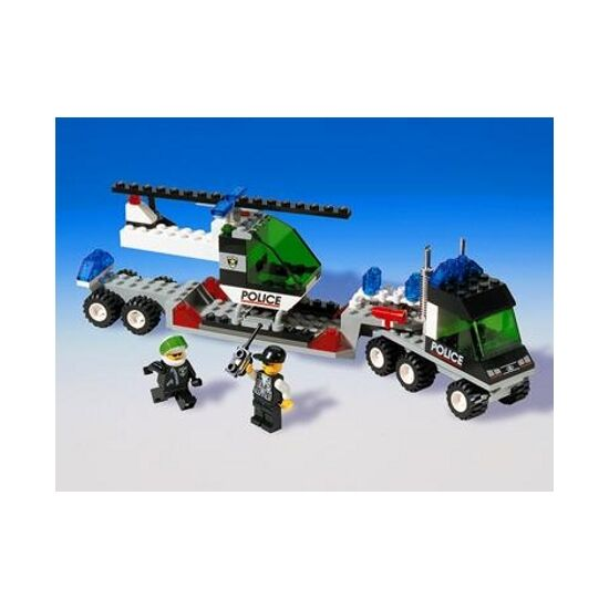 LEGO 6328 & 6332 - Town  Police - Helicopter Helicopter Helicopter Transport & Command Post Central 4f79f3