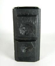 Rosenthal jarrón de porcelana Martin Freyer Design porcelaine noire bisquitporzellan