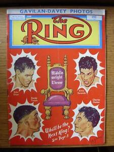 Apr1953 The Ring Boxing Magazine Creased Marked On Back - Birmingham, United Kingdom - Returns accepted within 30 days after the item is delivered, if goods not as described. Buyer assumes responibilty for return proof of postage and costs. Most purchases from business sellers are protected by the Consumer Contr - Birmingham, United Kingdom