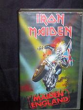 IRON MAIDEN MAIDEN ENGLAND - VHS VIDEO