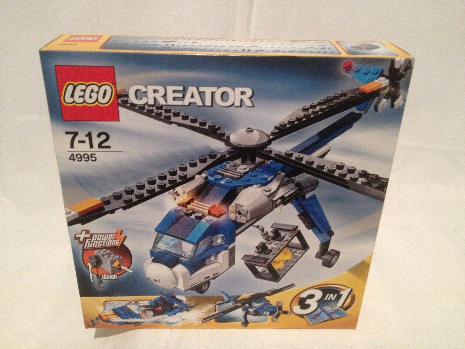 Lego Créator 4995 helicoptere cargo NEUF 1 édition