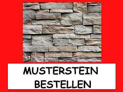 Baustoffe & Holz Ehrlich Muster Verblender,fassadensteine,steinriemche Steinoptik Broken Rock Ancona Preisnachlass