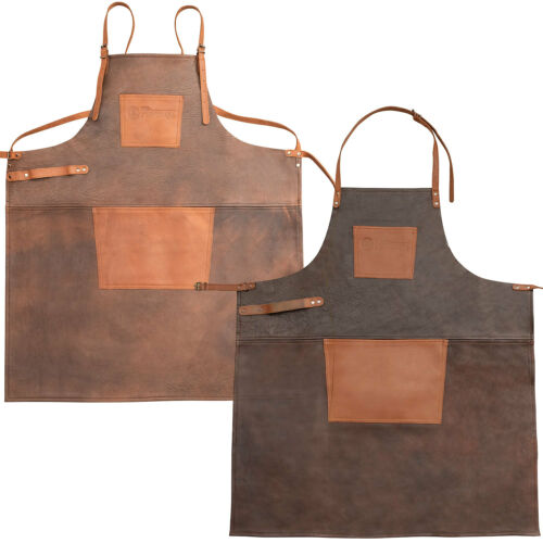 Petromax Grillschürze Kochschürze aus Büffelleder zwei Varianten zur Auswahl
