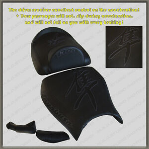 HOT-OFFER-Seat-COVER-Suzuki-Hayabusa-99-07-Black-Black-Gra-y-glow-effect-2-pil
