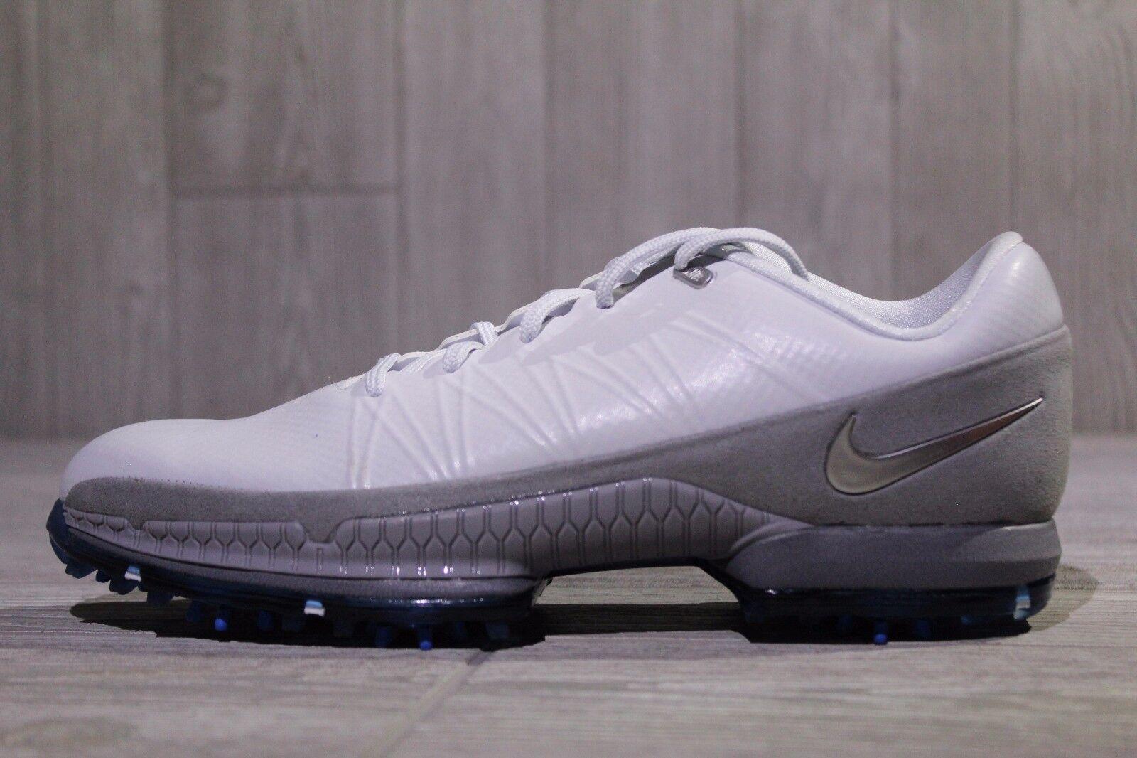 18 New Mens Grey/White Nike Golf- Air Zoom Attack Shoes Grey/White Mens 8.5-10.5 853739-001 f7eab7