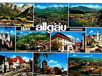 Allgäu , Ansichtskarte, 1978 gelaufen