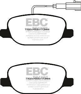 EBC Brakes DP31899C Redstuff Ceramic Brake Pad