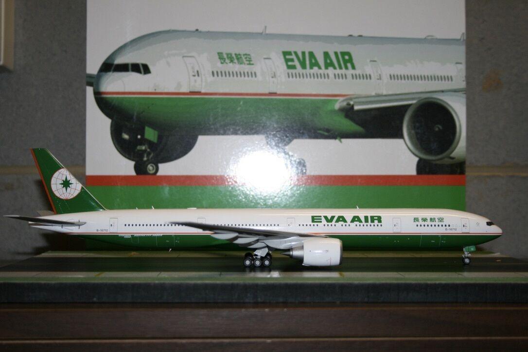 JC Wings 1 200 Eva Air Boeing 777-300ER B-16712 (XX2781) Die-Cast Model Plane