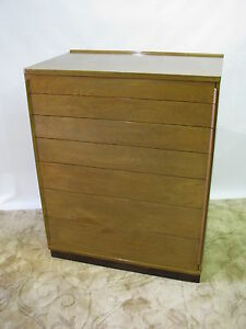Ed-Wormley-for-Dunbar-Mahogany-Chest-With-7-Graduated-Drawers-Near-Mint