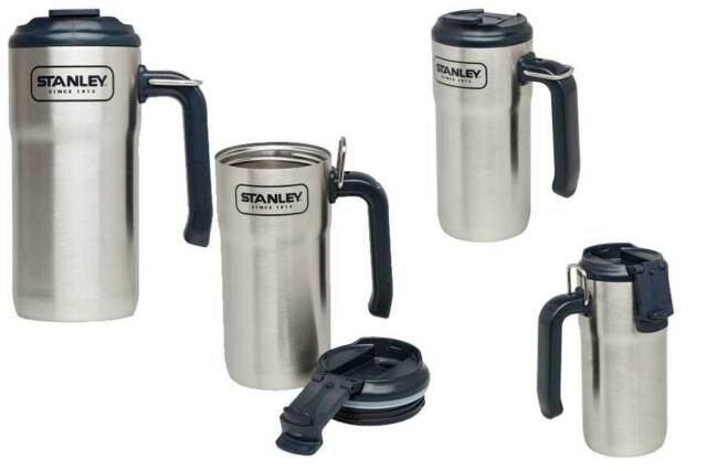 Stanley Adventure Steel Travel Mug, 473 ml, 18/8 Edelstahl, Klappdeckel   662900