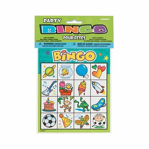 Bingo Party Game for 8