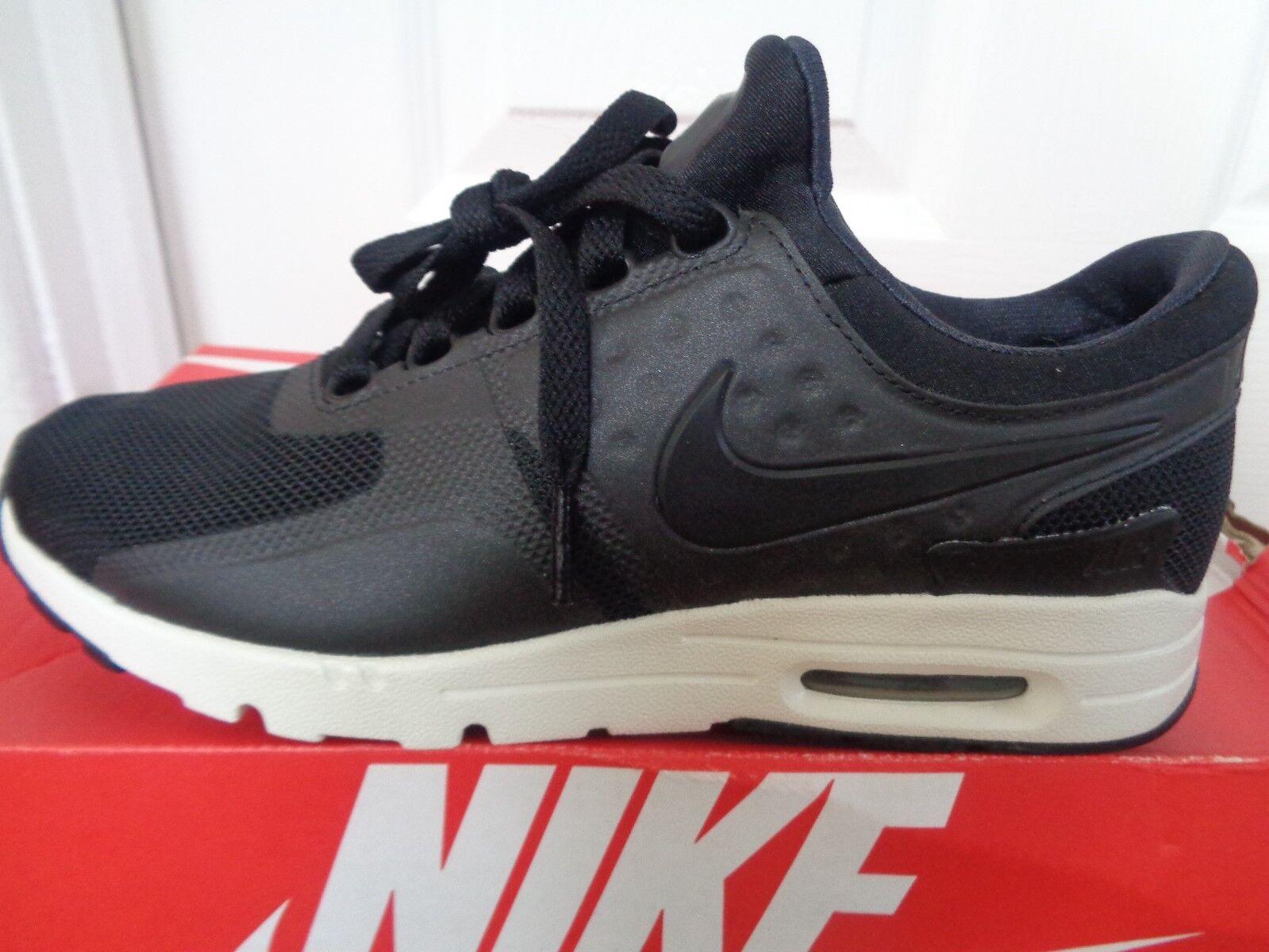 Nike Air Max Scarpe Scarpe Scarpe Da Ginnastica WMNS ZERO 857661 002 EU 38 US 7 Nuovo + Scatola | Ogni articolo descritto è disponibile  | Di Progettazione Professionale  | Prestazioni Superiori  0b160c