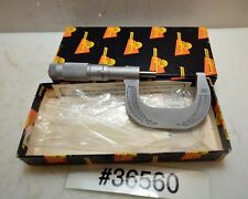 Brown and Sharpe 1-2 Inch Outside Micrometer 599-20-5 (Inv.36560)