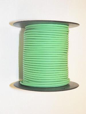 light green Abrasion-Resistant General Wire 100 foot spool - TXL 22 Ga