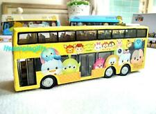Disney App Game Tsum Tsum Toy Vehicle Pullback Action - Double Decker Bus