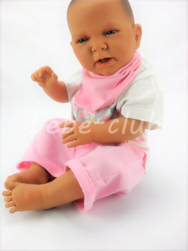 Babyset Sommer Body Strampler Rosa 2tlg Mädchen 62 68 74 80 100/% Baumwolle