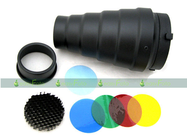 Brand New! Snoot & Honeycomb for Bowens Mount Flash Strobe  OZ AU Seller