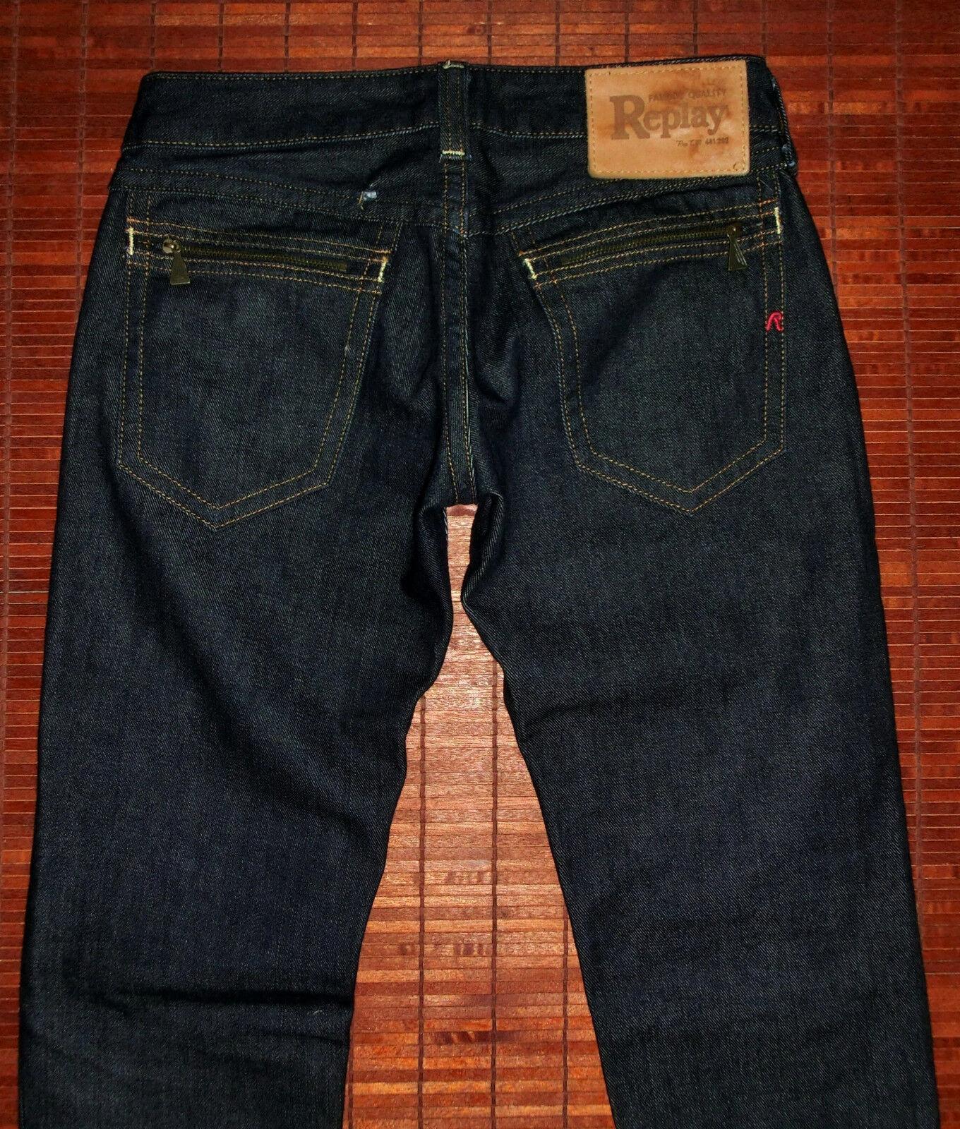 Jeans vita bassa REPLAY modello  WV 497.030 taglia taglia taglia 26 30 us STATO PERFETTO ffd2d9