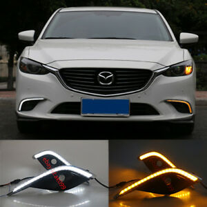 Led Drl For Mazda 6 Atenza 2017 2018 Daytime Running Fog Light With