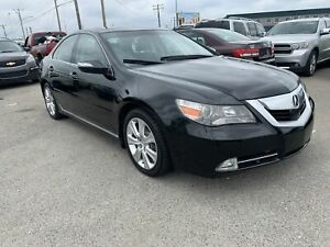 2010 Acura RL TOP OF LINE HTD/AC SEATS ROOF NAV DVD CAMERA AND A LOT MORE