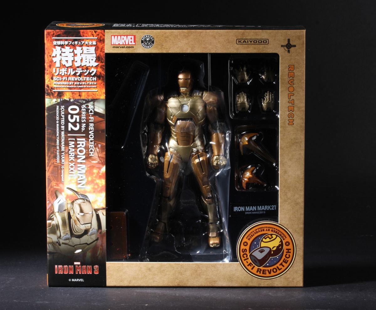 Kaiyodo Marvel Revoltech  052 SCI-FI IRON uomo 3 MARK XXI 21 azione cifra  per offrirti un piacevole shopping online