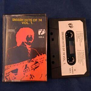 Cassette-Tape-Smash-Hits-of-74-Volume-1-Counterfeit-Two-Bare-Feet-Bootleg