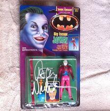 jack nicholson signed autograph Batman Sky Escape Joker action figure JSA LOA