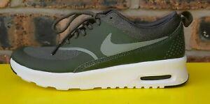 Détails sur Nike Air Max Thea, Kaki, Taille UK 3EUR 36 US 5.5 (599409 310) afficher le titre d'origine