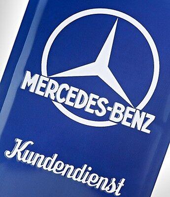 """Blechschild original Mercedes-Benz Classic Collection """"Kundendienst"""""""